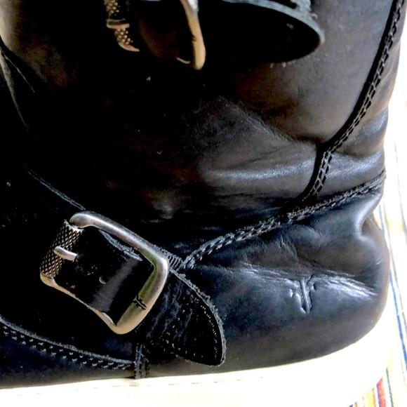 Frye black boots 9 1/2 medium